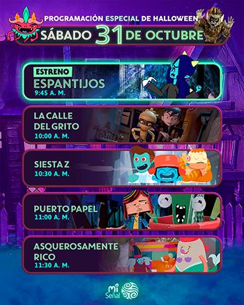 Especial Halloween Señal Colombia