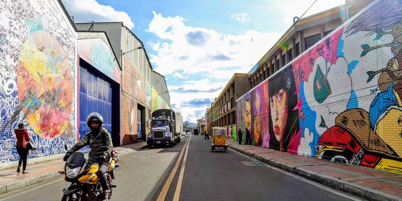 Grafiti en Colombia - Murales de Distrito Grafiti en Bogotá