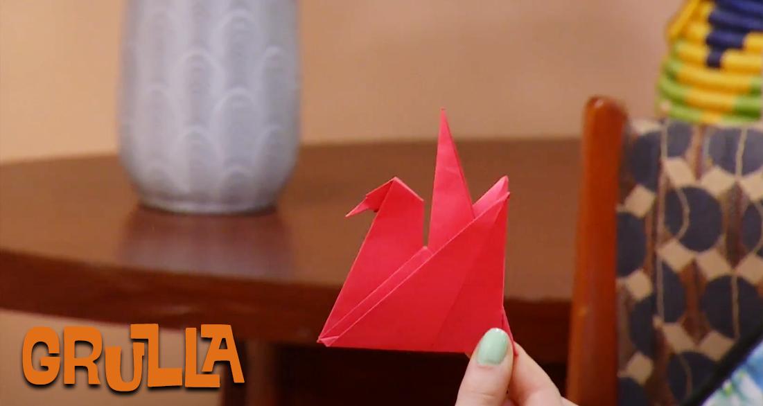 Cómo hacer una grulla en origami - Mi Señal, Territorio Mágico