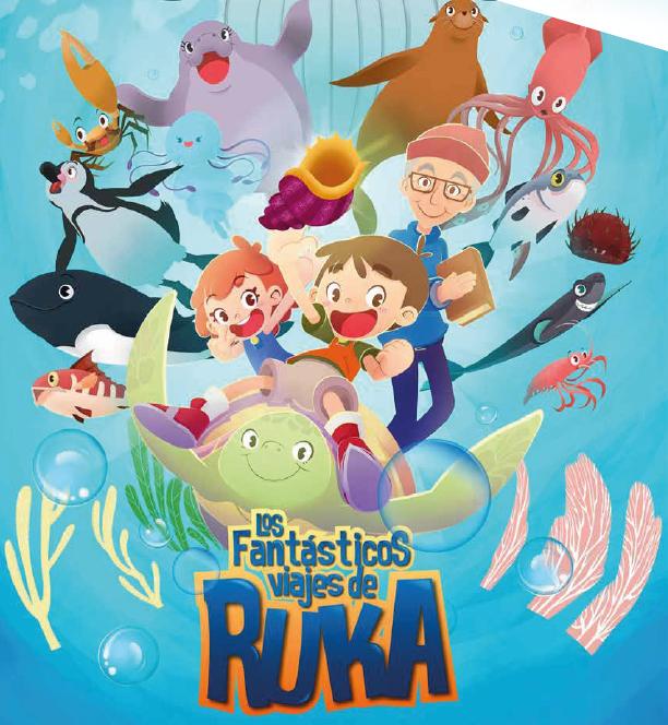 Los fantástico viajes de Ruka - Portada guía pedagógica