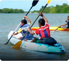Kayak - imágenes de deportes para niños