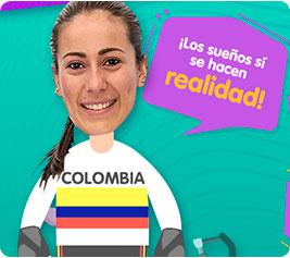 Marana Pajón - deportes animados para niños