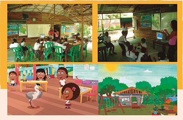 Escuelas del Pacífico que inspiran la de Guillermina y Candelario