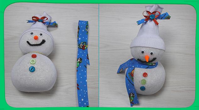 muñeco de nieve tutorial