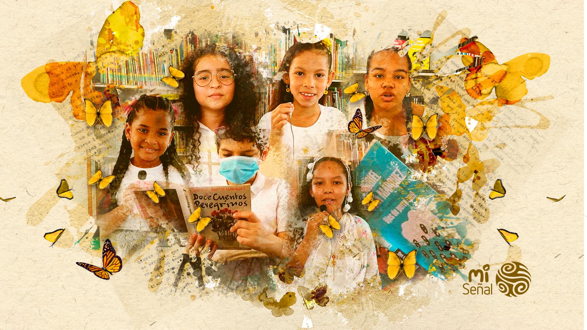 García Márquez para niños: Los niños de Aracataca nos cuentan