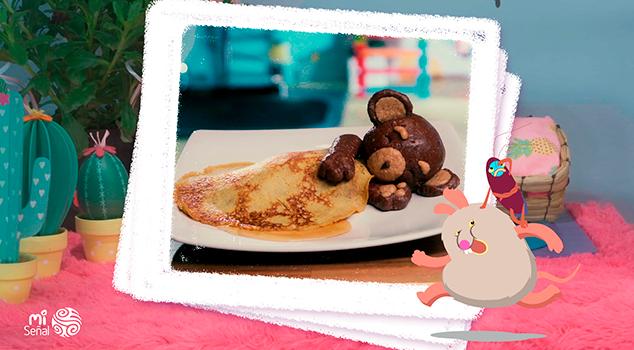 Pancake de osito