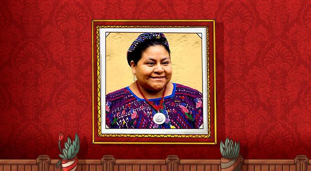 Mujeres Líderes - Rigoberta Menchú