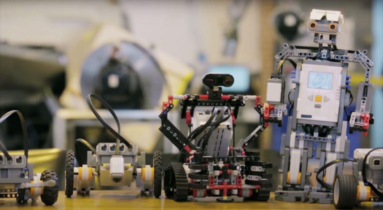 Robots - Imagen del programa Mi Señal, Mi huella