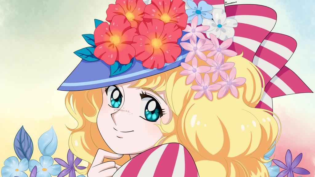 Ilustración de Candy Candy