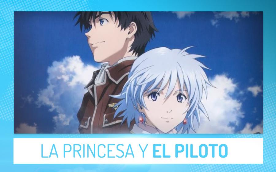 Películas de anime - La princesa y el piloto (Jun Shishido)