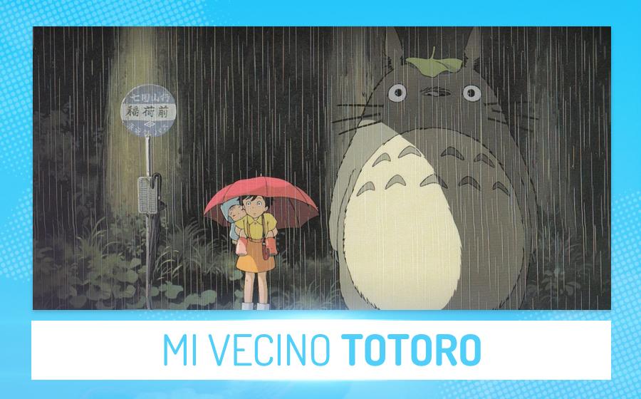 Películas de anime - Mi vecino Totoro (Hayao Miyazaki)