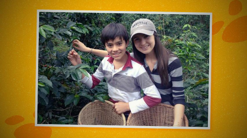 Esteban y Nicolle, dos niños de Armenia que estudian en homeschooling