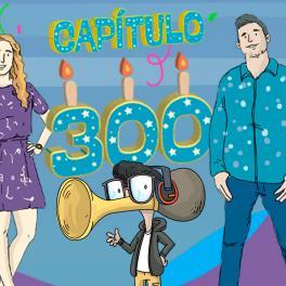 Profe en tu casa ¡cumple 300 capítulos! Y así será la celebración