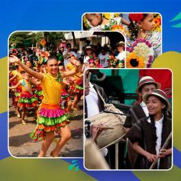 Fiestas de Colombia donde participan los niños