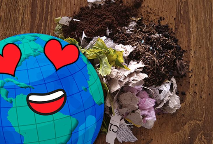 ¿Cómo hacer composta casera? 5 pasos para transformar tus residuos orgánicos en abono