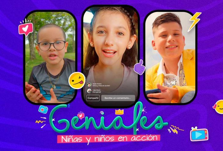Geniales: un nuevo proyecto donde los niños son protagonistas