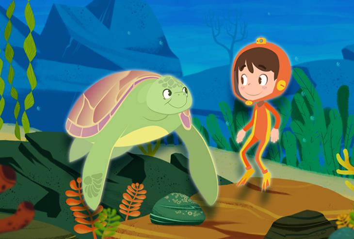 Los fantásticos viajes de Ruka: conocer el océano a través de la pantalla