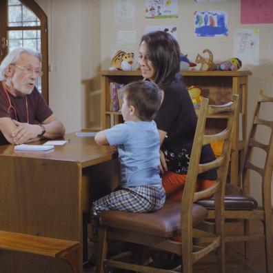 crianza respetuosa: consulta del Dr. faga
