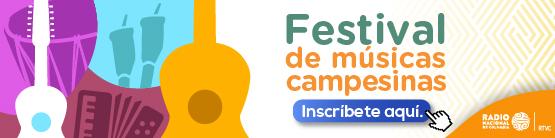 Convocatoria Festival Músicas Campesinas