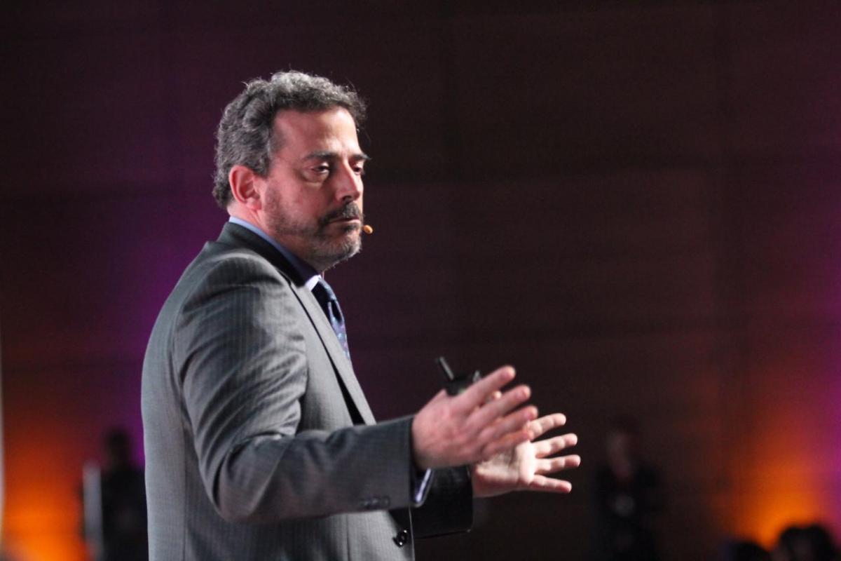 Juan Ramón Samper, gerente de RTVC, en el Fimpu 2019