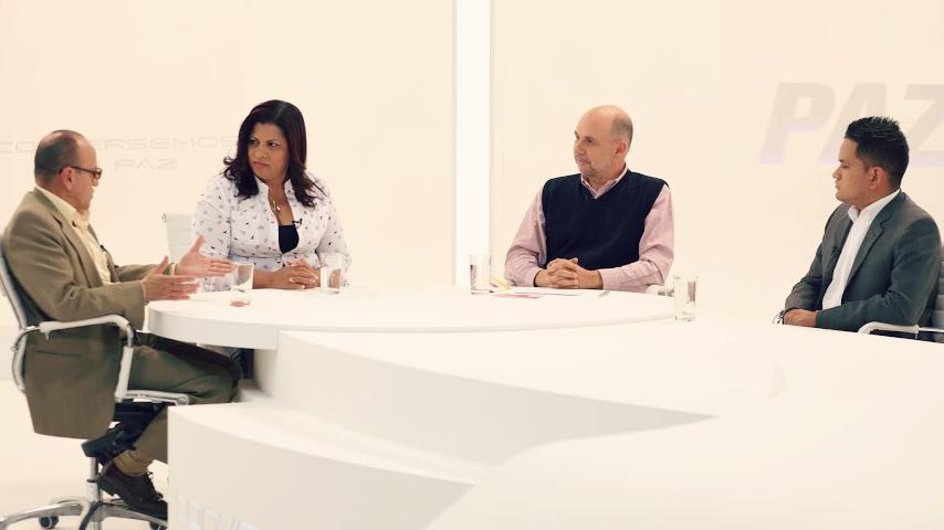 En ´Conversemos de Paz´los invitados son: Ederlidia Garizao, Boris Forero, Ferley Ruíz