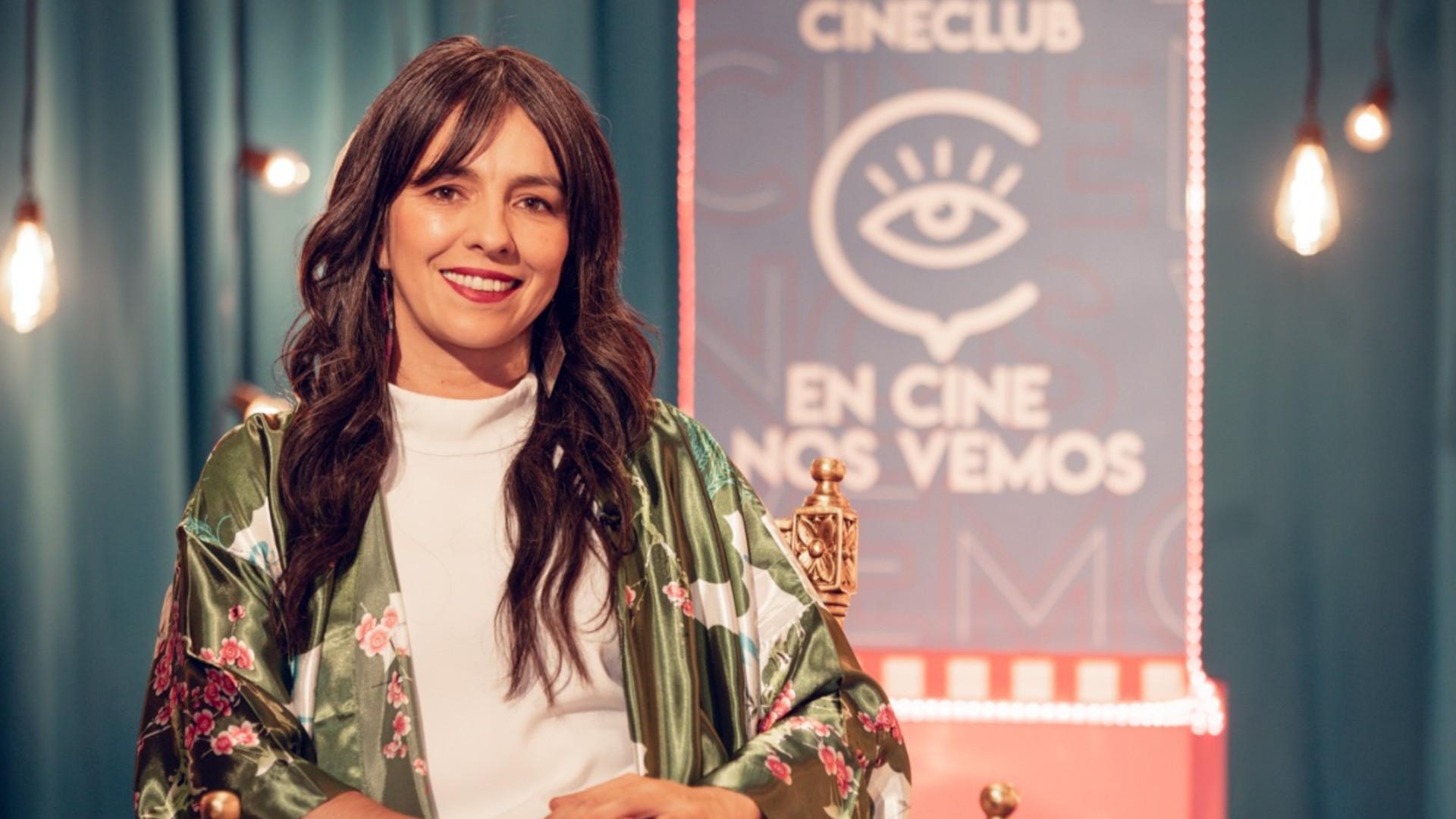 Diana Rico presentadora Cineclub en Cine nos vemos de Señal Colombia