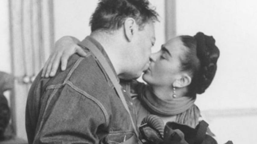 Frida Kaho y Diego Rivera la vida Salón de las leyendas
