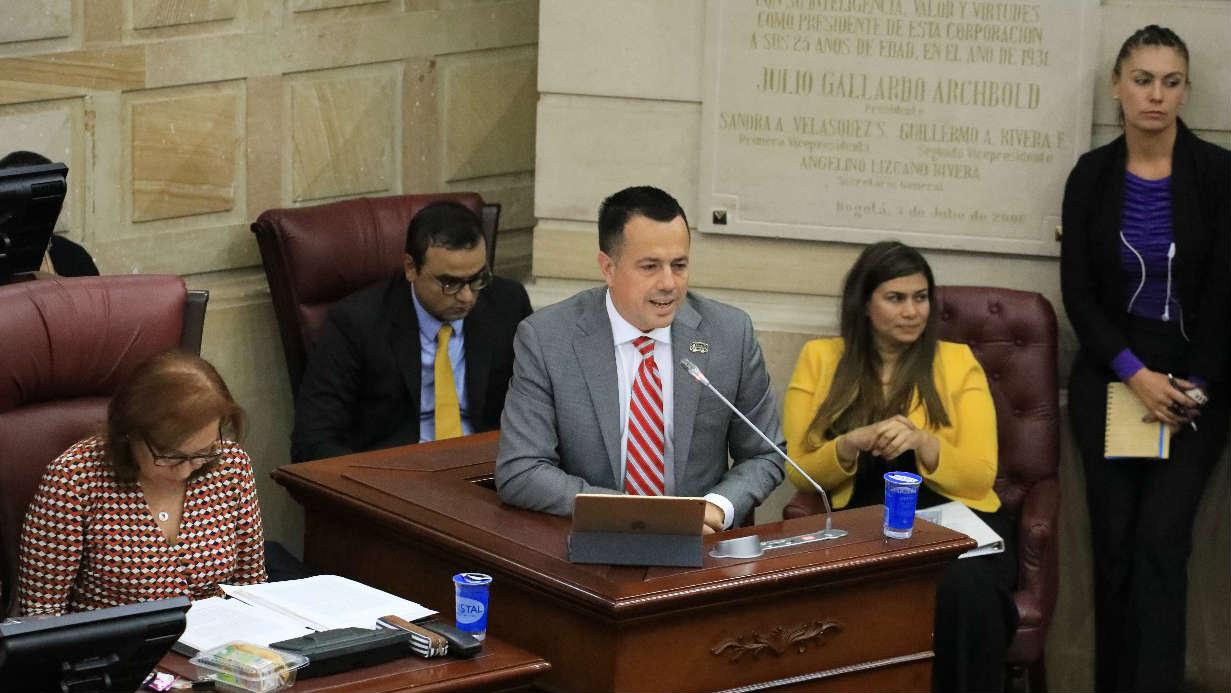 Juan Pablo Bieri, gerente RTVC Congreso de la República