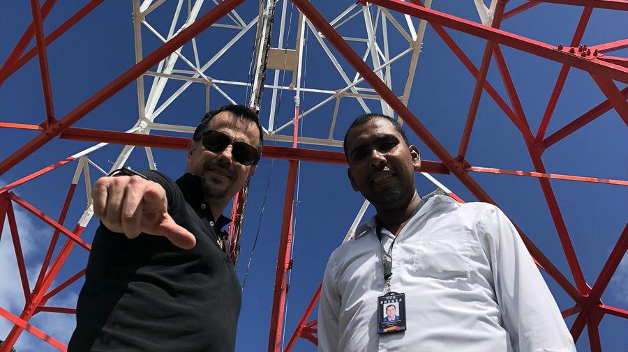 Juan Pablo Bieri, gerente RTVC estación San Andrés