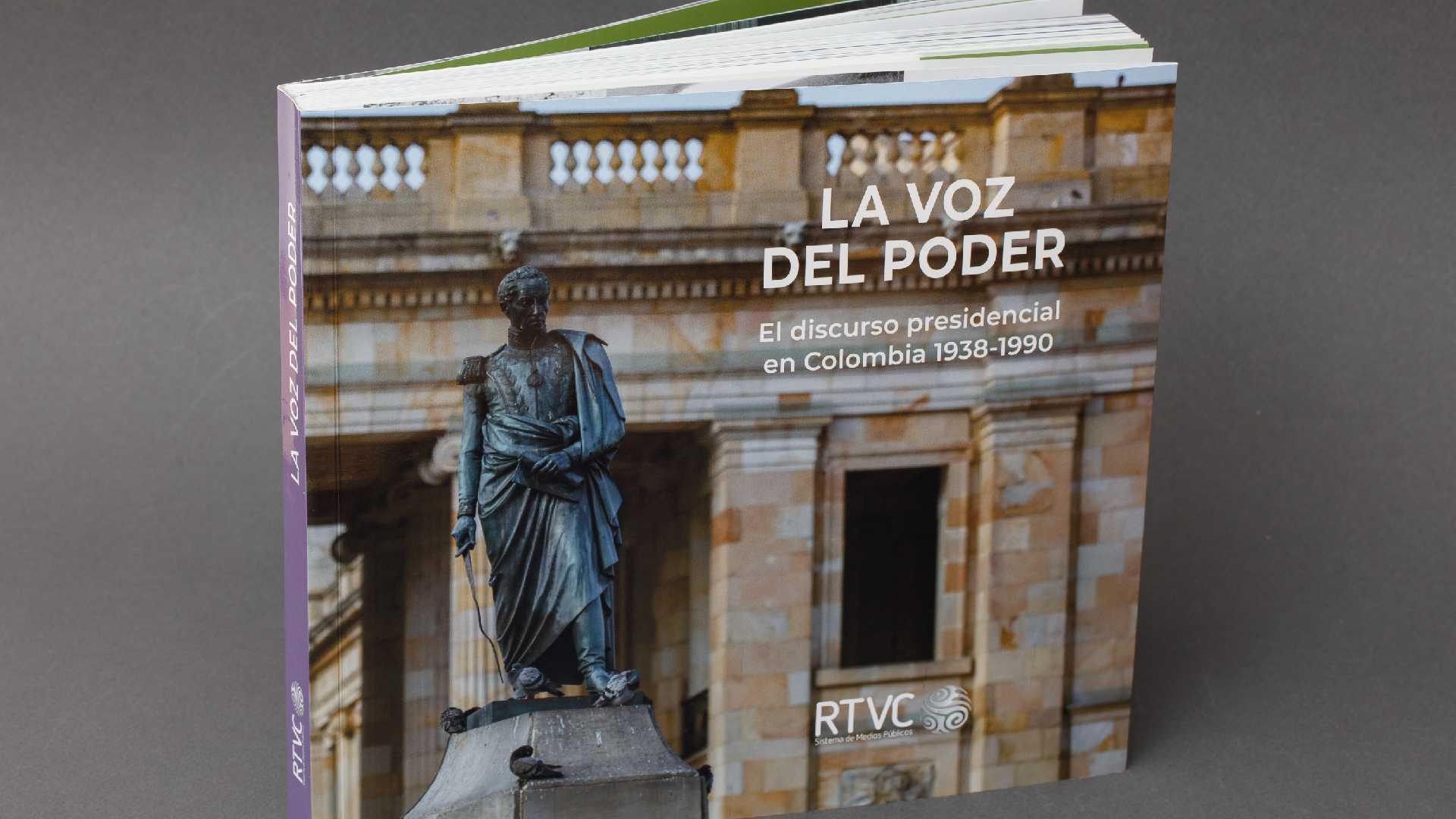 La voz del poder, libro de Señal Memoria sobre los discursos presidenciales