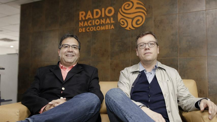 Alberto Salcedo, Mario Jursich Radio Nacional