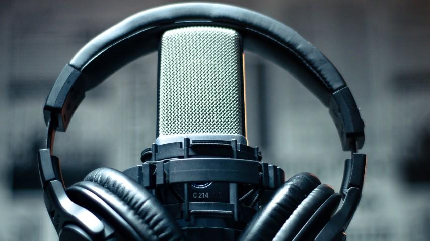 Micrófono audifono emisoras