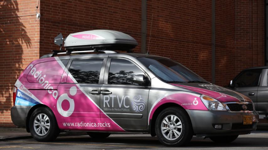 Movil Radionica Radio Nacional de Colombia RTVC cobertura