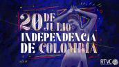 Conmemoración 20 de julio en RTVC, programación