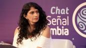 Diana Diaz en Chat de Señal Colombia