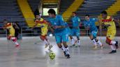 Microfútbol árbitro colombiano Señal Deportes