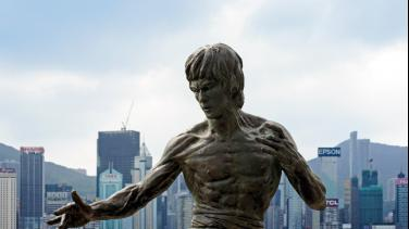 Estatua Bruce Lee