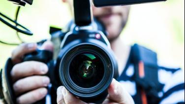 Cámara video sector audiovisual