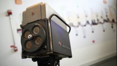 Cámara de tv, Museo Nacional, RTVC Señal Memoria