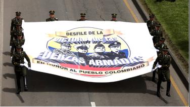 Desfile Militar transmisión RTVC