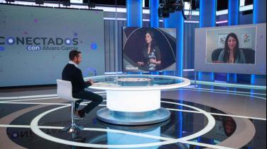 Diana Trujillo en entrevista con Álvaro García