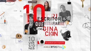 Diez versiones, podcast de RTVCPlay con escritores colombianos