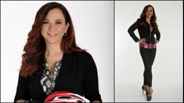 La ´Goga´Ruiz llega al equipo de Señal Colombia Deportes para transmitir la Vuelta al Canal Vasco