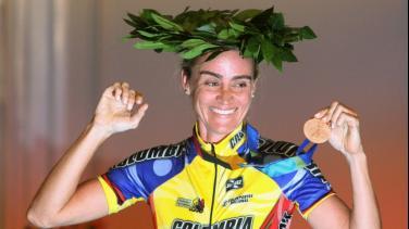 María Luisa Calle Ciclista colombiana Vuelta a Colombia