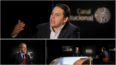 Carlos Huertas en Conversemos de Actualidad con Dario Fernando Patiño