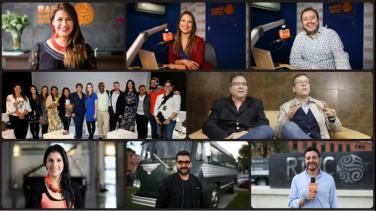 Periodistas ganadores Premios Simón Bolívar Radio Nacional