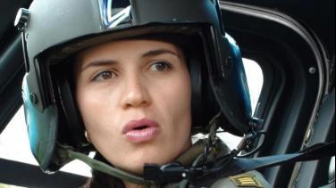 Erika Pedraza, piloto