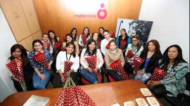 Sistema de Medios Públicos rinde homenaje a las mujeres