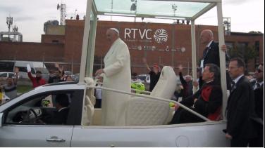 Visita Papa Francisco en Colombia Foto: Gabriel Medellín