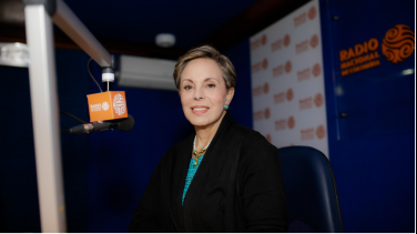 Ximena Aulestia de Radio Nacional